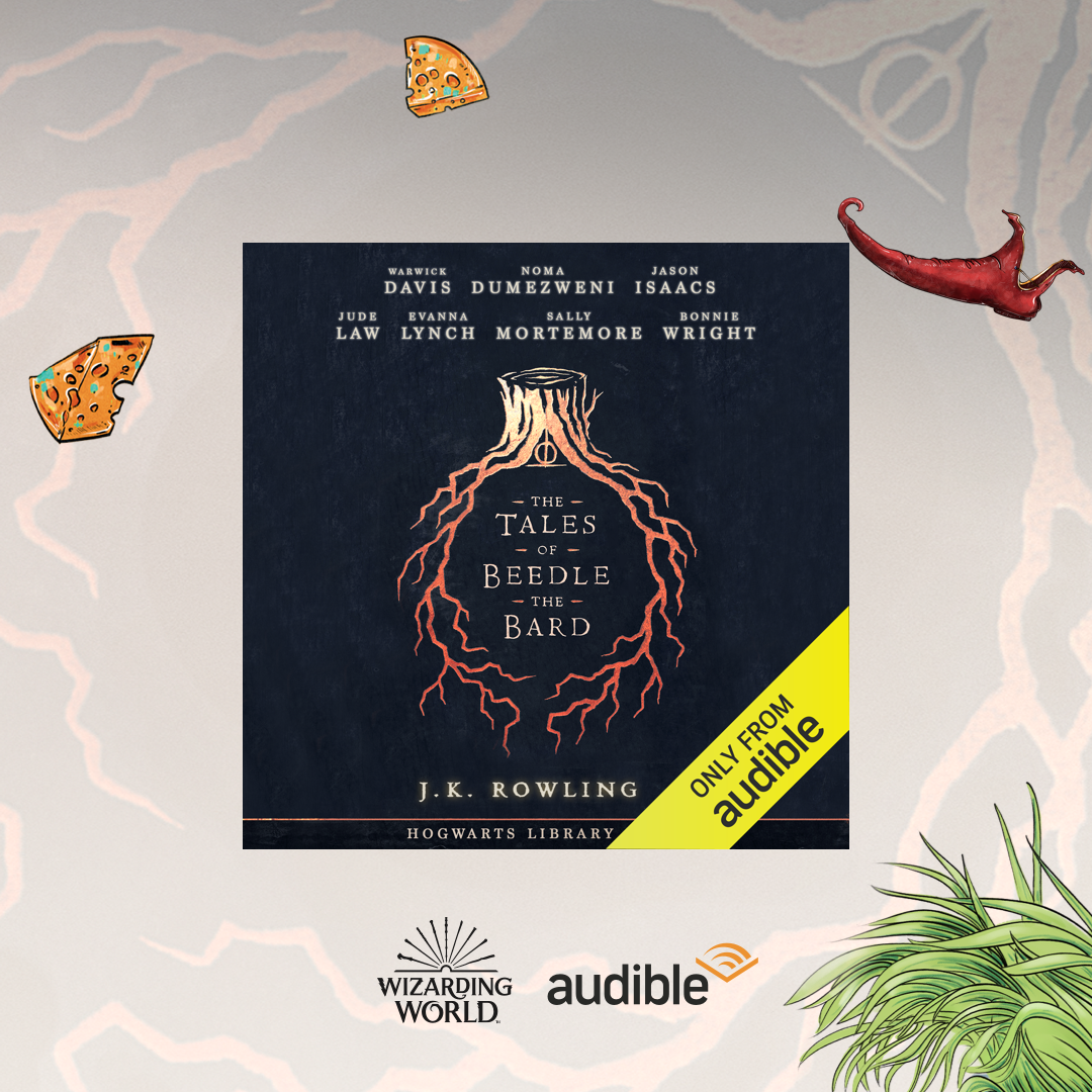 Audible UK The Tales of Beedle the Bard - free for members Link Thumbnail | Linktree