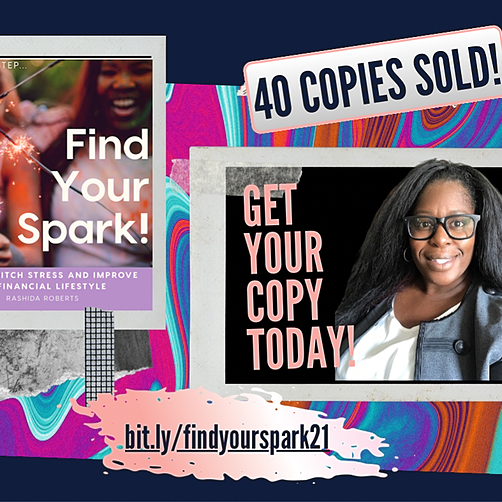 Increase Your Cash Flow w/ Me! NEW! Grab our Book: Find Your Spark! Link Thumbnail | Linktree