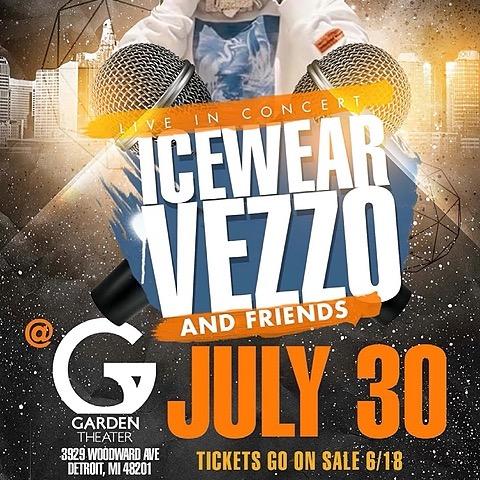 @IcewearVezzo Icewear Vezzo Live in Concert (Detroit) Link Thumbnail | Linktree