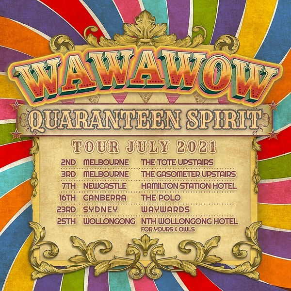 @wawawow CANCELLED CANB Tix 16th July: WAWAWOW at The Polo with Spinning Plates + Eloria Link Thumbnail | Linktree