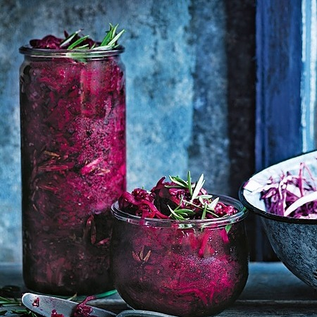 @donnahaymagazine beetroot, red cabbage and caraway sauerkraut  Link Thumbnail   Linktree