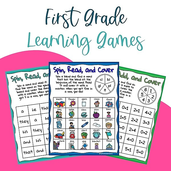 @thefirstgradecreative Sign up for 100+ phonics, sight word, and math learning games! Link Thumbnail   Linktree