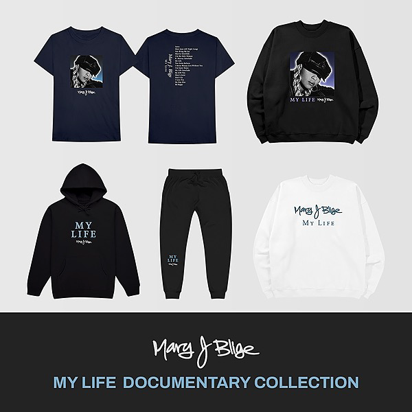 @therealmaryjblige My Life Documentary Merch Collection Link Thumbnail | Linktree
