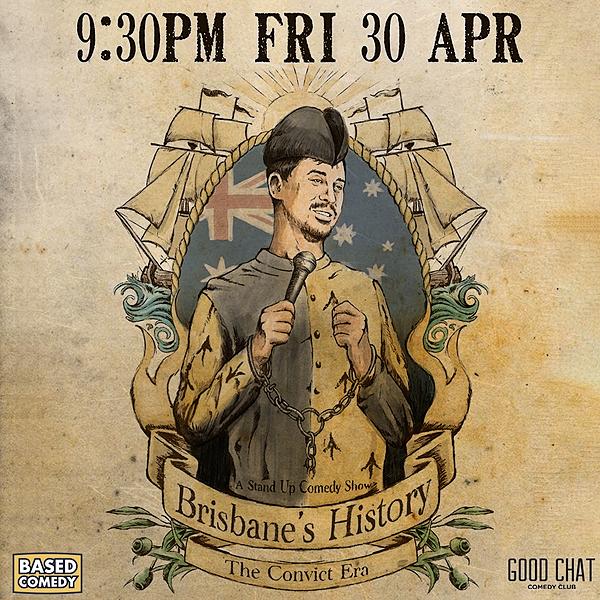 Get tickets to Shayne Hunter | Brisbane's History - The Convict Era [Apr 30]