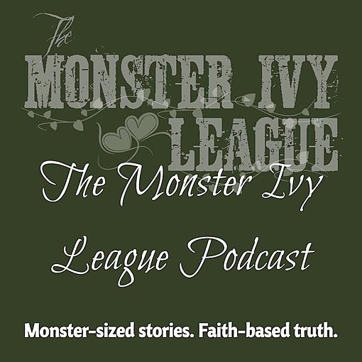 Author & Writer Allison Wells Monster Ivy League Poscast Link Thumbnail | Linktree