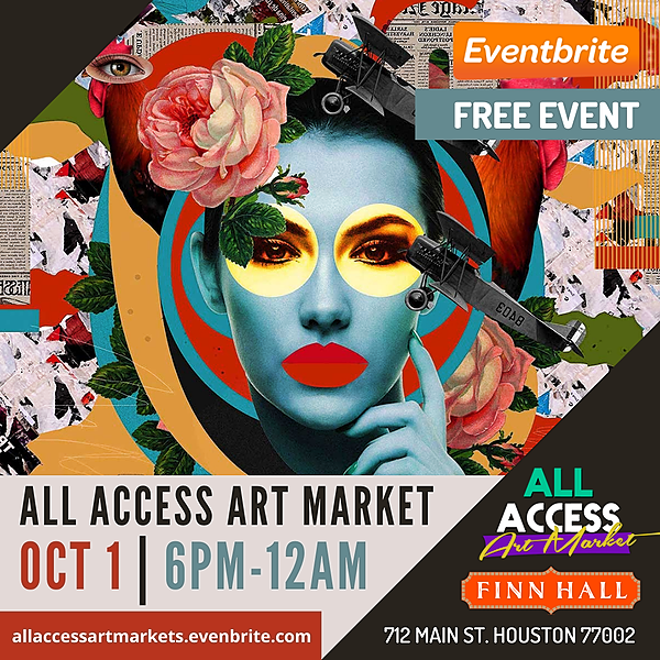 All Access Art Show All Access Art Market: Finn Hall Houston  Link Thumbnail   Linktree