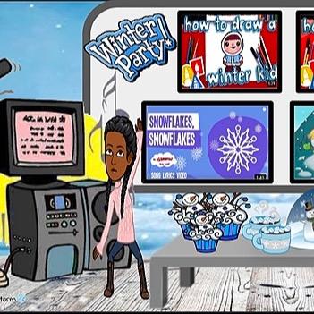 @WinterStorm Virtual Winter Break Holiday Party Link Thumbnail   Linktree