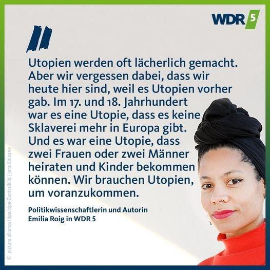@emiliazenzile WDR5 Interview Link Thumbnail | Linktree