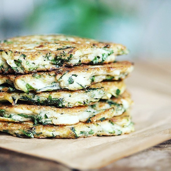 ceciliafolkesson.se Zucchini-fritters Link Thumbnail | Linktree