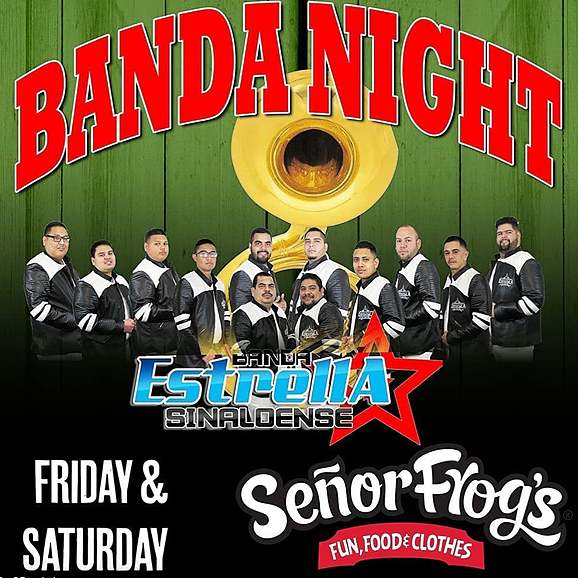 Senor Frogs Las Vegas Table/Bottle Service - Noche de Banda (Express Entry) Link Thumbnail   Linktree