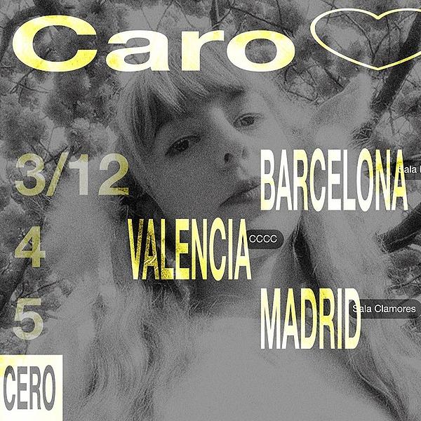 @cero.en.conducta Caro <3 + AMORE en Madrid (05.12, Sala Clamores) Link Thumbnail | Linktree
