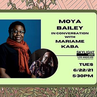 Misogynoir Book Talk w/ Mariame Kaba