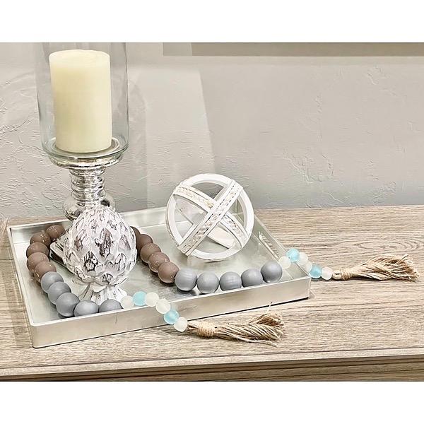 FROSTINGJEWELRY Wood Bead Sea Glass Garland Link Thumbnail   Linktree