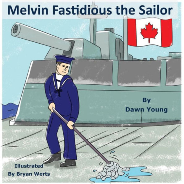 Melvin Fastidious the Sailor: A fun read aloud book with lots of repetitive text for beginning readers.