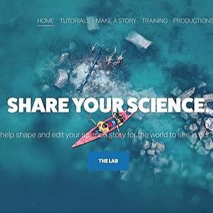 Huw James - Science Adventurer ANTURUS Science StoryLab Link Thumbnail | Linktree