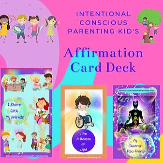 Affirmation Card Deck For Kids