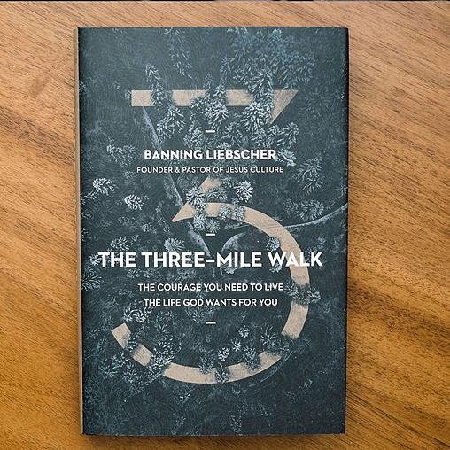 THE THREE MILE WALK BOOK