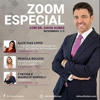 """Live  com Dr. David Kuber e o Casal Rondelli - Tema """" Comércio"""""""