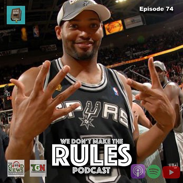 We Dont Make The Rules Podcast Latest Episode: Spotify Link Thumbnail | Linktree