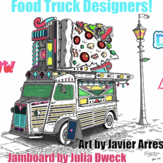 Design a Food Truck *One of my earliest Jams while first learning!