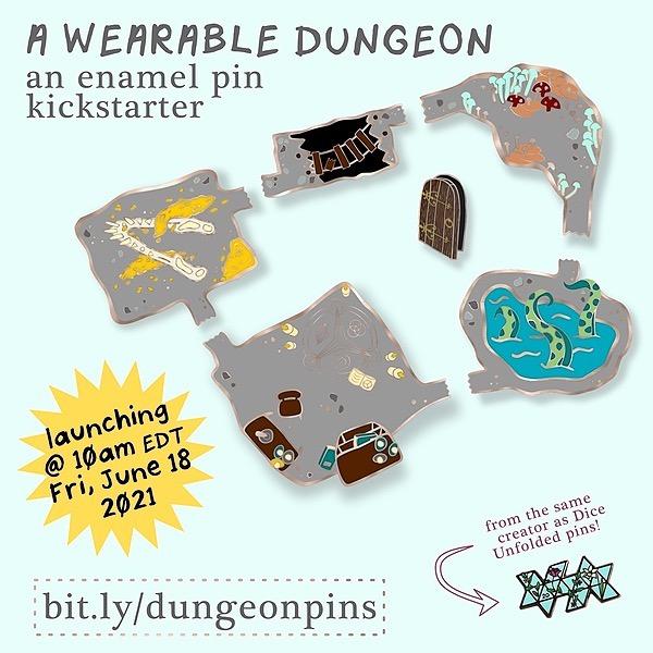 ✨ arielle milstein-brennan  a wearable dungeon pin preorder now!! Link Thumbnail | Linktree