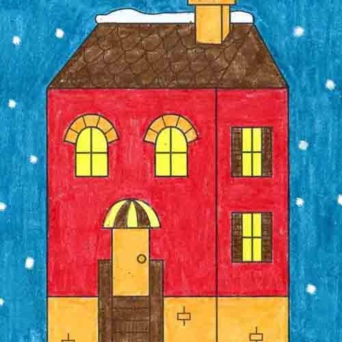 @artprojectsforkids Draw a Townhouse Link Thumbnail   Linktree