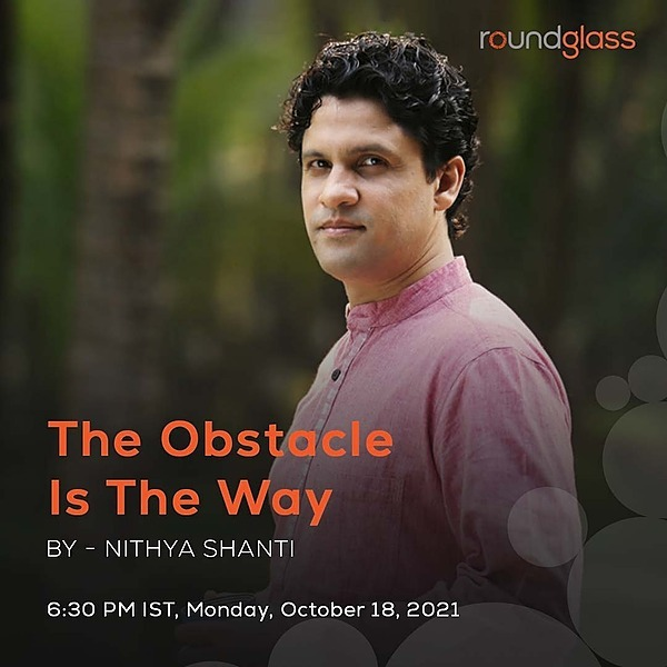 Nithya Shanti Live Session: The Obstacle is the Way Link Thumbnail   Linktree