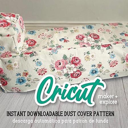 Betty Allen Cricut Dust Cover Pattern Link Thumbnail | Linktree
