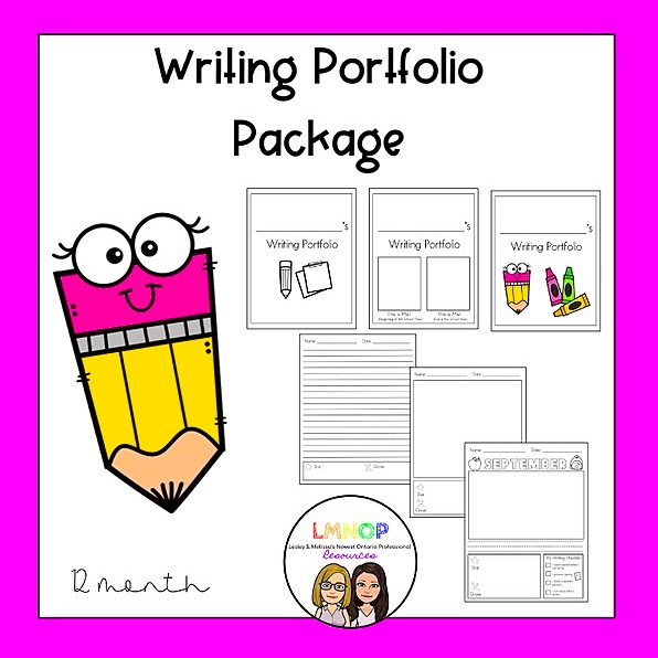 LMNOP Resources Writing Portfolio Pages - 12 months Link Thumbnail | Linktree