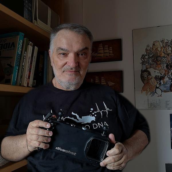 """13.30 - 14.00: Mauro Francesconi, Gruppo """"Parliamo di Video Sub"""", 30 minuti per tutti gli appassionati della videoripresa subacquea"""
