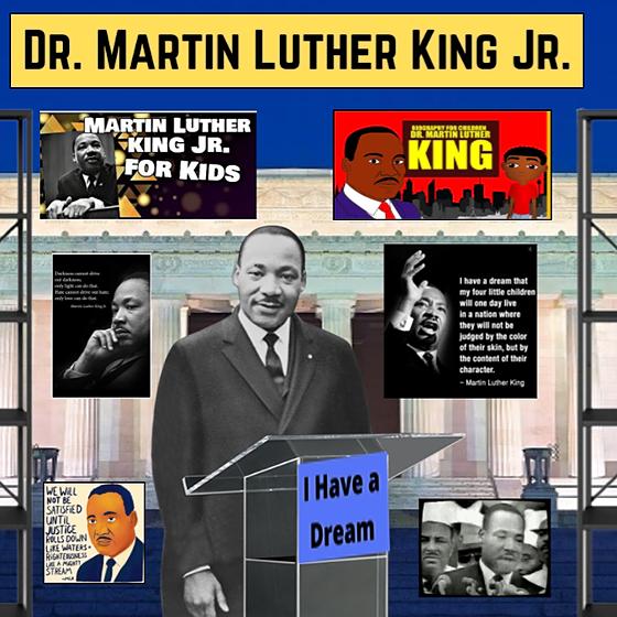 Miss Hecht Teaches 3rd Grade Dr. Martin Luther King Jr. Link Thumbnail | Linktree