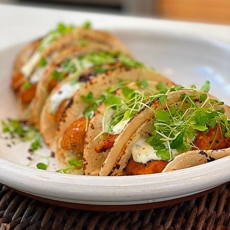 Crispy Salmon Tacos