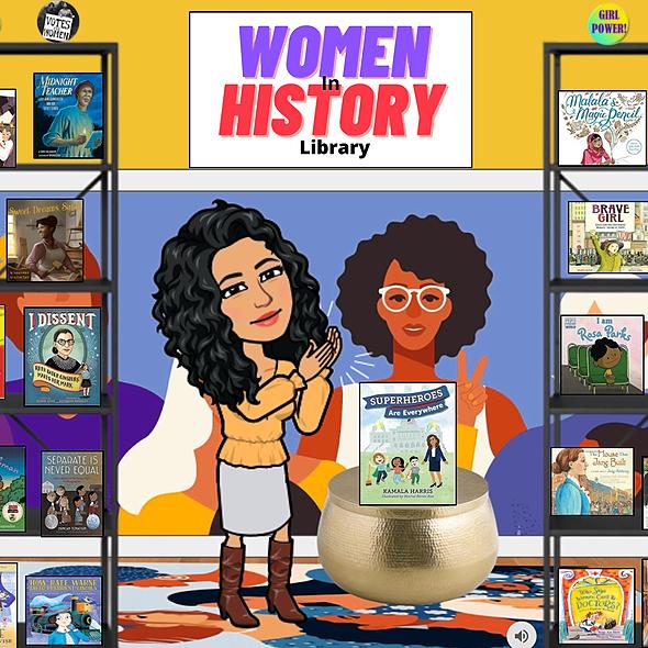 Miss Hecht Teaches 3rd Grade Women In History Link Thumbnail | Linktree