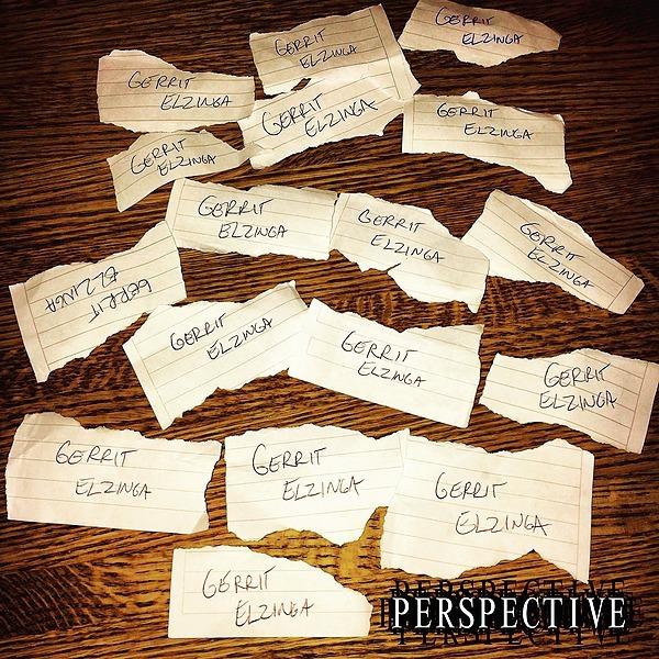"Surviving Comic Gerrit Elzinga Album #1 - ""Perspective"" Link Thumbnail   Linktree"