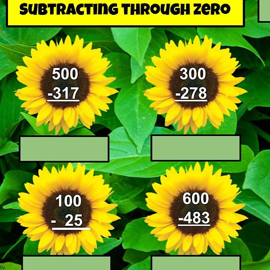 Miss Hecht Teaches 3rd Grade Subtracting through Zero  Link Thumbnail | Linktree