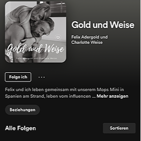 @charlotteweise GOLD und WEISE Podcast Spotify Link Thumbnail   Linktree