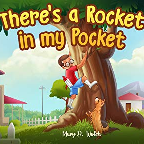 "Children's Book   ""There's a Rocket in my Pocket"""