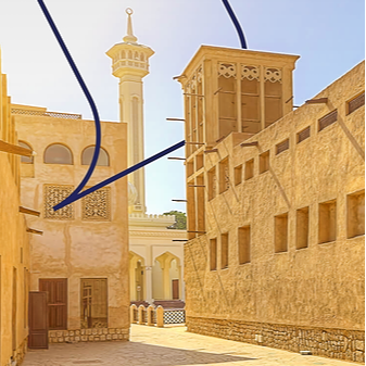 Virtual Tour at Al Fahidi Historical District - جولة افتراضية في حي الفهيدي التاريخي