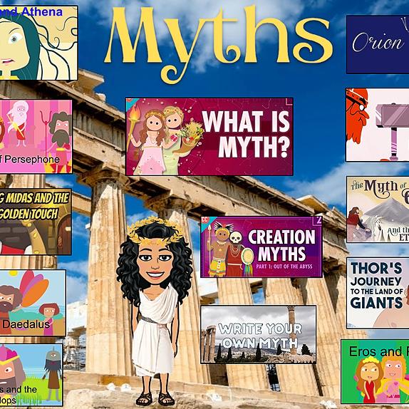 Miss Hecht Teaches 3rd Grade Myths Link Thumbnail | Linktree