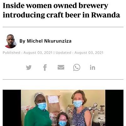 @KwezaCraftBrewery New Times: Inside women owned brewery introducing craft beer in Rwanda Link Thumbnail   Linktree