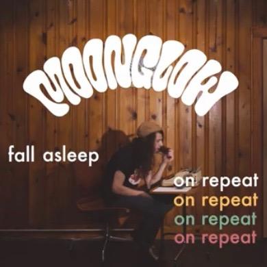@moonglow FALL ASLEEP ON REPEAT music video Link Thumbnail | Linktree