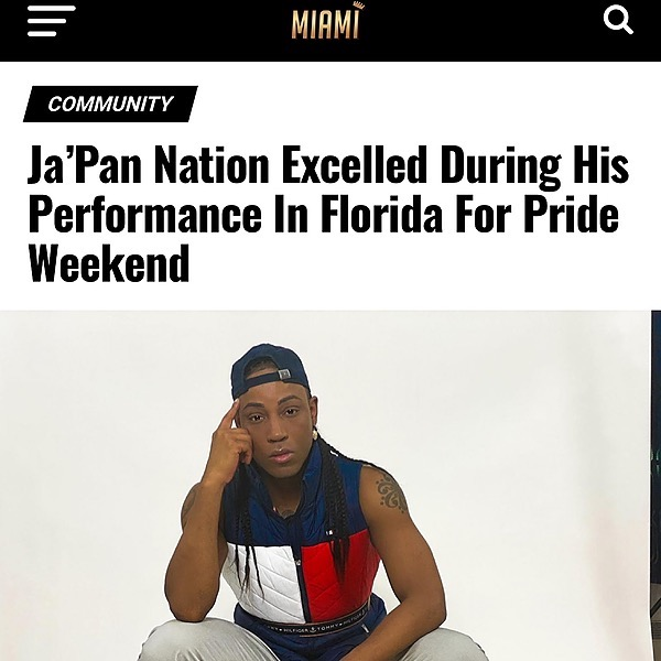 Ja'Pan Nation Miami Celebrity Mag Link Thumbnail | Linktree