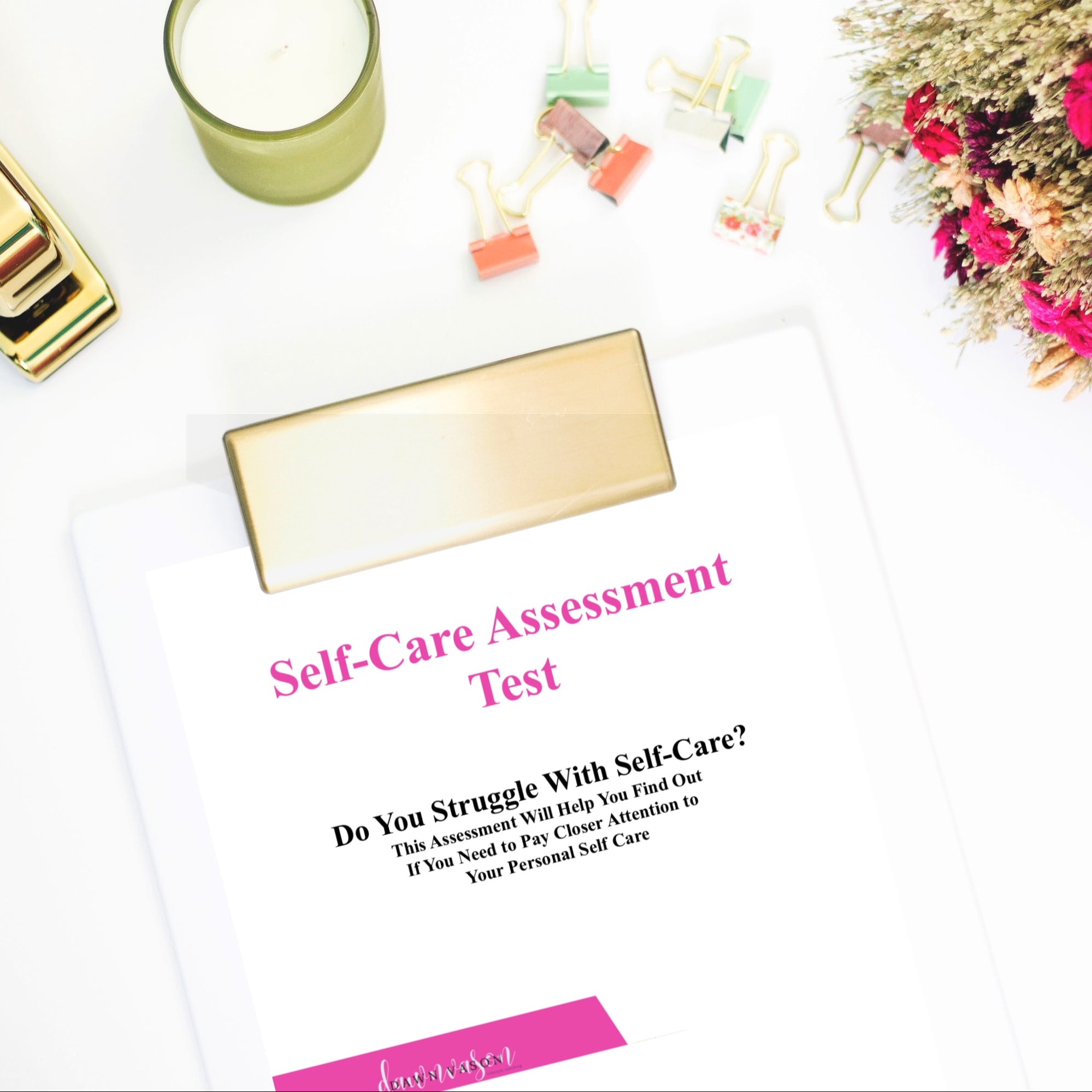 FREE Self-Care Assessment