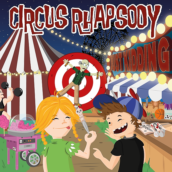 Circus Rhapsody New Album on Spotify Link Thumbnail | Linktree