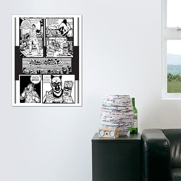Meat Stix Comic Book Ad - The Dog (WALL ART)