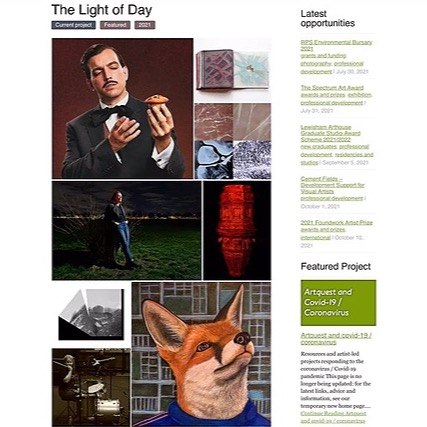 @Patriciashrigley Light of day , Artquest  Link Thumbnail | Linktree