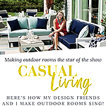 Casual Living: Making outdoor rooms sing