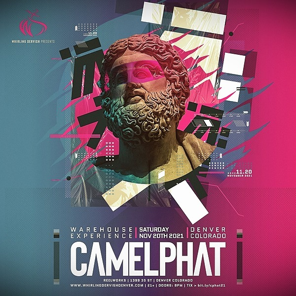 @whirlingdervishproductions CamelPhat Warehouse Experience | Denver 11/20/21 Tickets Link Thumbnail | Linktree