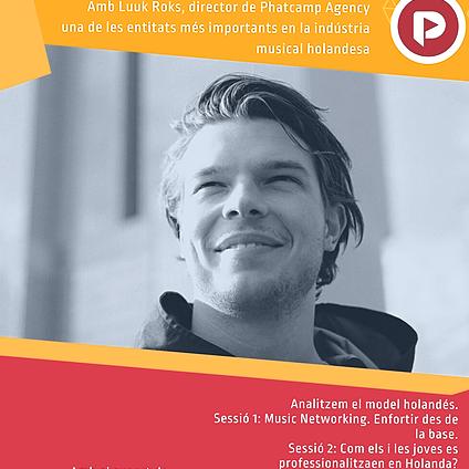 Xerrada Networking amb Luuk Roks (NL)