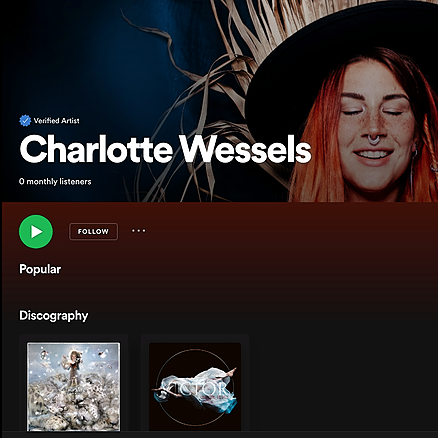@charlottewessels Charlotte Wessels on Spotify Link Thumbnail | Linktree